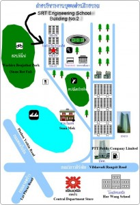 SRT Engineering School Map
